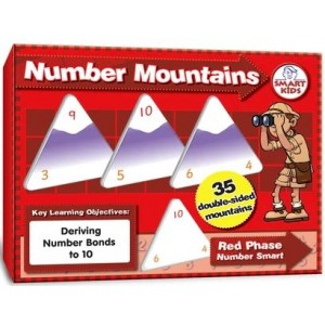 Number Mountains: Red Phase to 10