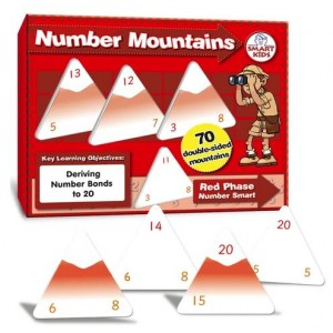 Number Mountains: Red Phase to 20