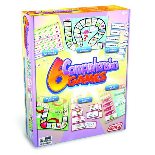 6 Comprehension Games Box