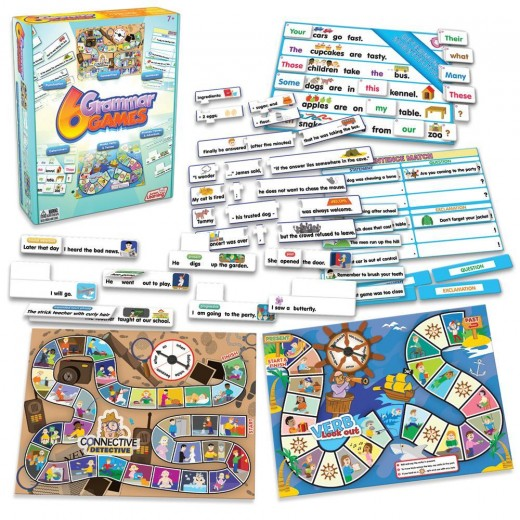 Games and puzzles for grammar practice