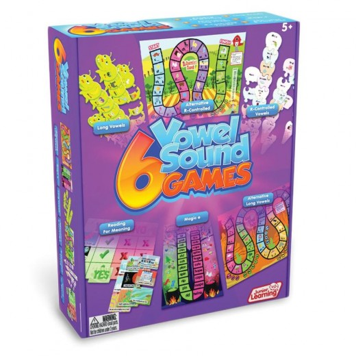 Games and puzzles for vowel sounds
