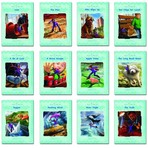 Alba series of 12  decodable readers