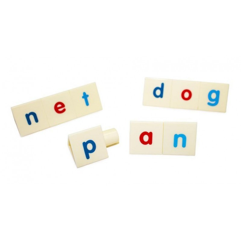 Work with synthetic phonics or word families