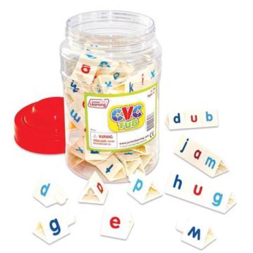 The CVC Tub creates a wealth of words