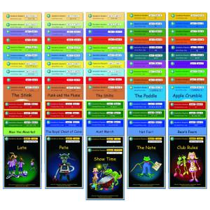 Dandelion Readers Complete Scheme