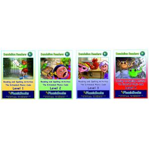 Dandelion Readers Extended Code Workbooks