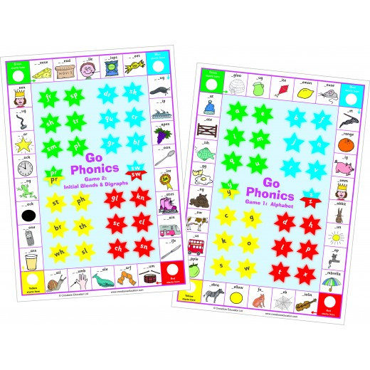 Phonic game for alphabet A-Z