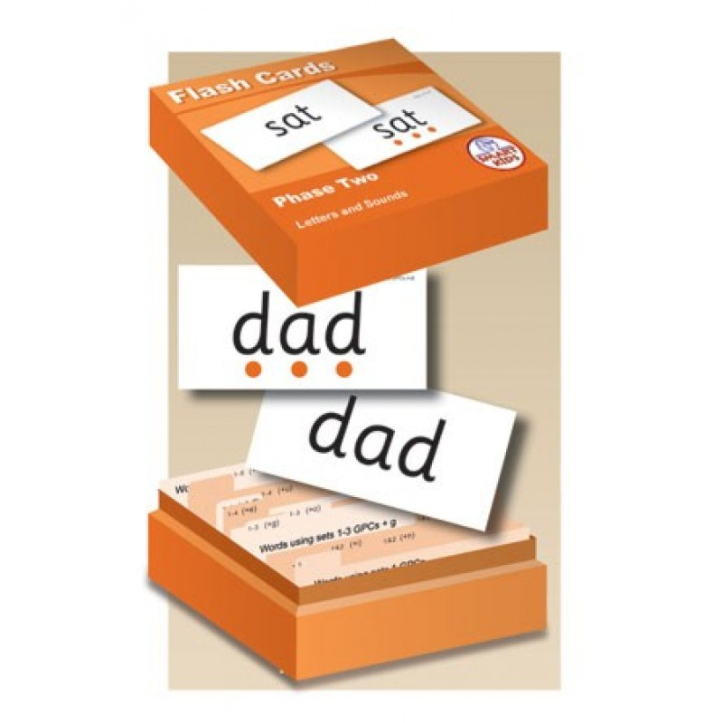 Letters and Sounds Flashcards Phase 2