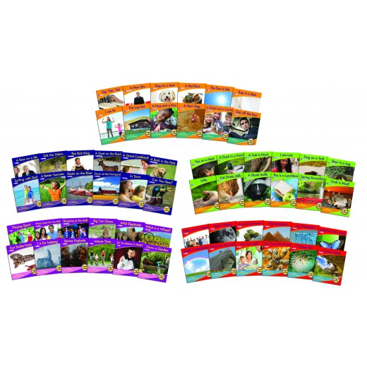 Non Fiction Decodable Readers. 60 books, phases 2-6