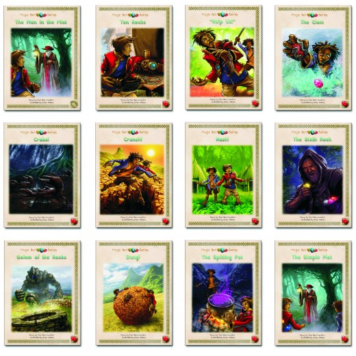 Dyslexia-friendly synthetic phonics catch-up readers: set of 12 books.