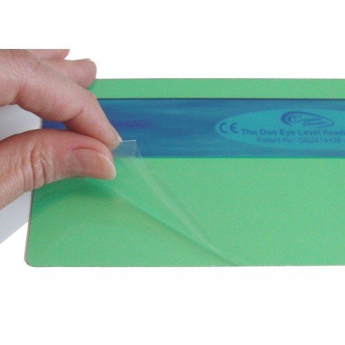 Protective film on every ruler (please remove before use)