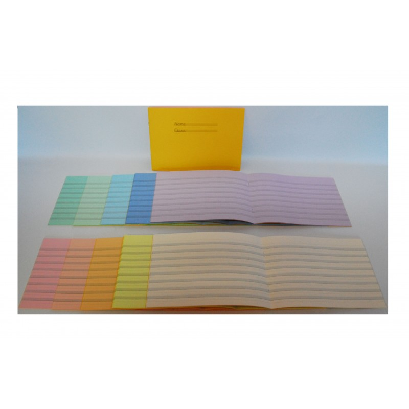 All 10 colours. Yellow front covers.