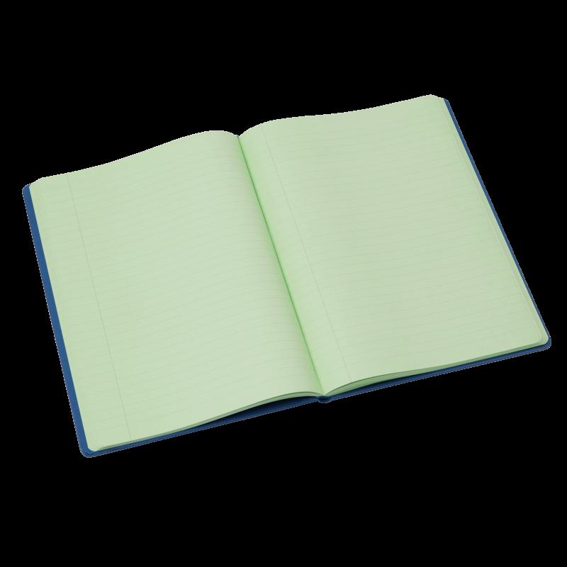 Tinted Hardback Notebook - Leaf