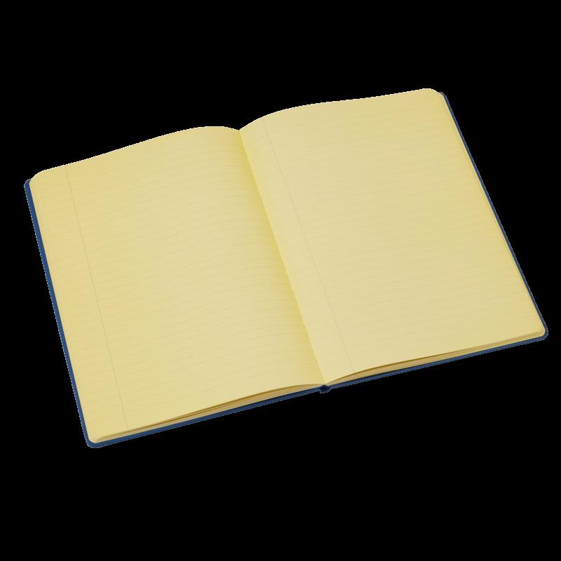 Tinted Hardback Notebook - Yellow