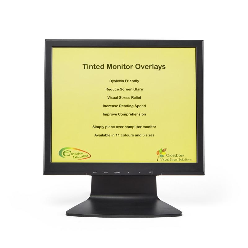 Yellow Monitor Overlay