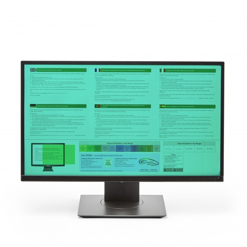 Wide-screen Monitor Overlay - Jade
