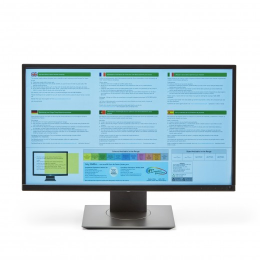 Wide-screen Monitor Overlays - Available in 10 colours