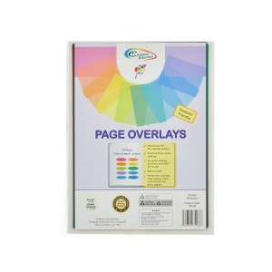 Coloured Page Overlays