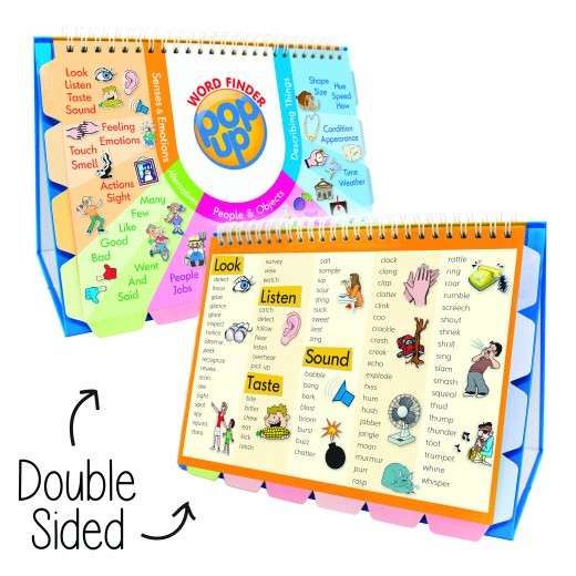 illustrated pop-up vocabulary directory