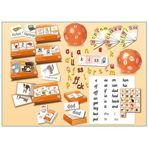 Letters and Sounds Bumper Kit: Phase 2