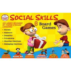 6 Social Skills Board Game
