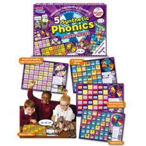 5 Synthetic Phonics Board Games: Phase 3