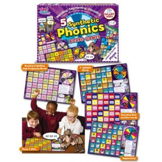 Synthetic phonics board games