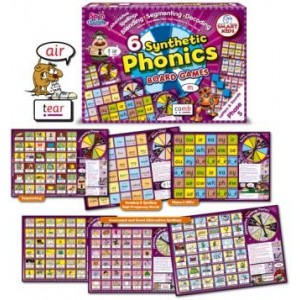 6 Synthetic Phonics Board Games: Phase 5