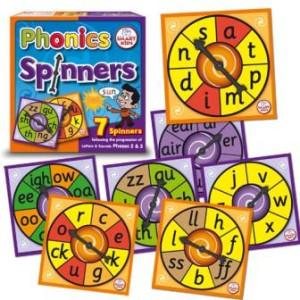 Phonics Spinners