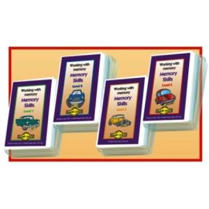 Smart Chute Cards: Memory Skills Set