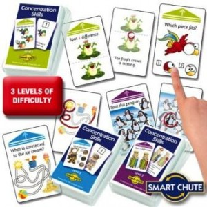 Smart Chute Cards: Concentration Skills Set