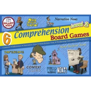 6 Comprehension Board Games: Set 2