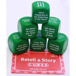 Re-tell a Story Foam Cubes