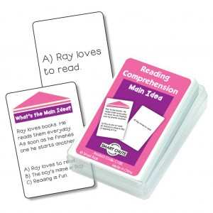 Smart Chute Reading Comprehension Cards