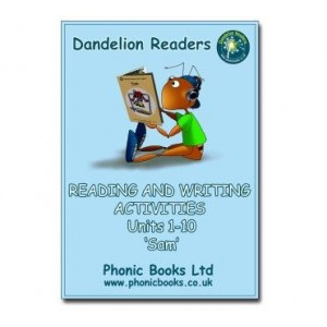 Dandelion Readers Initial Code Workbooks