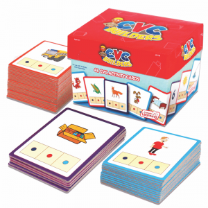 CVC Builder Activity cards