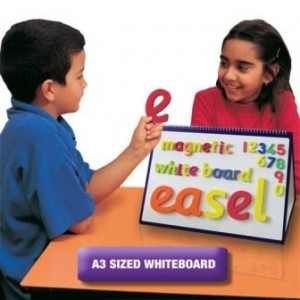 Magnetic Dry-Wipe Easel