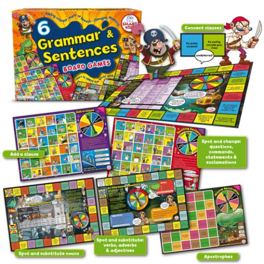 Multisensory gammar and sentences games