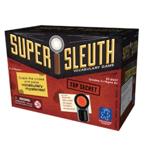 Super Sleuth Vocabulary Games