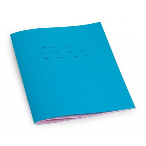 All squared books have a blue front cover