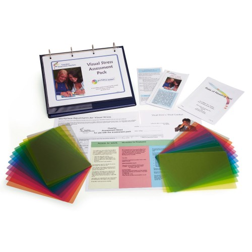 The visual stress assessment pack.