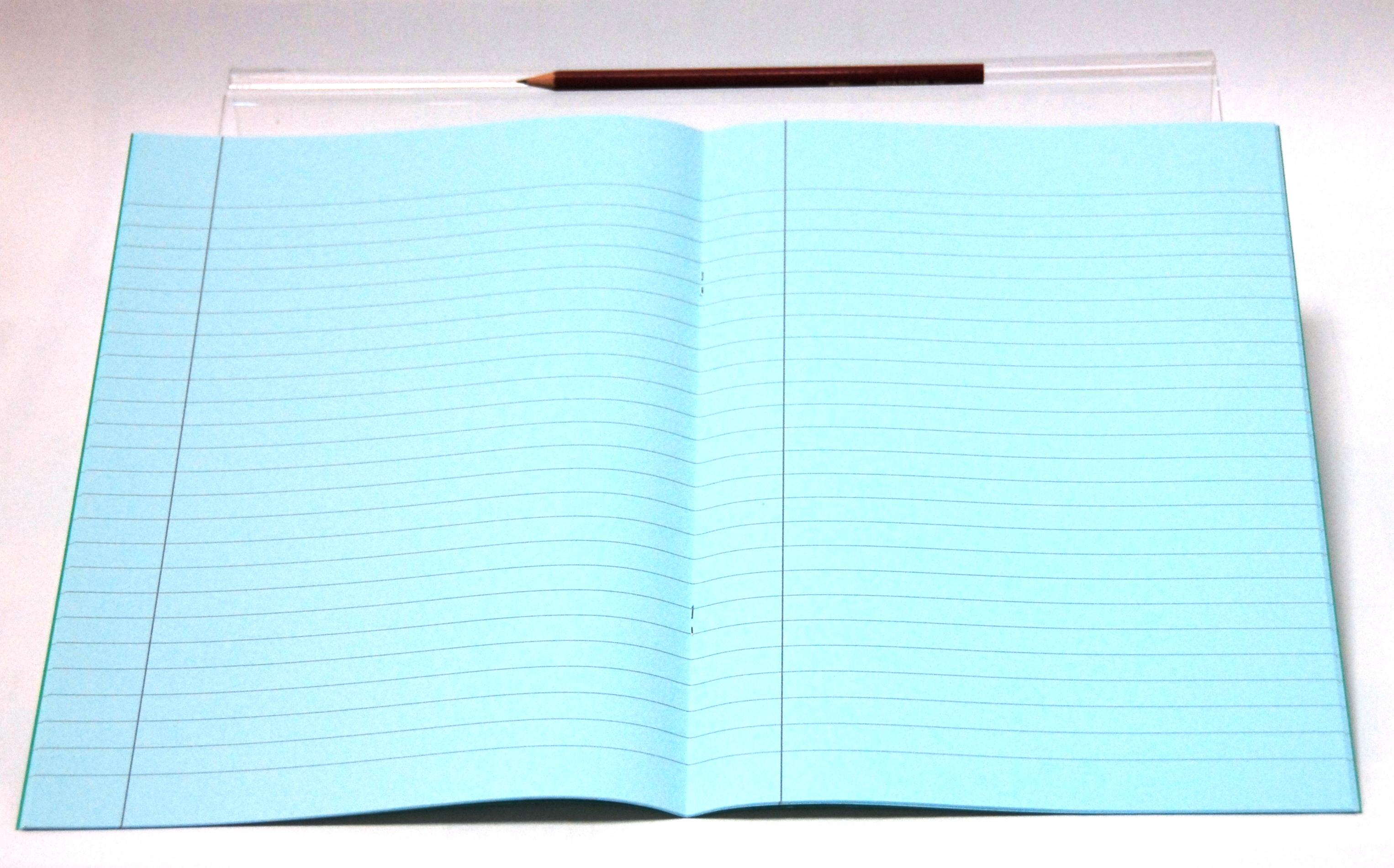 dyslexia-friendly tinted exercise books
